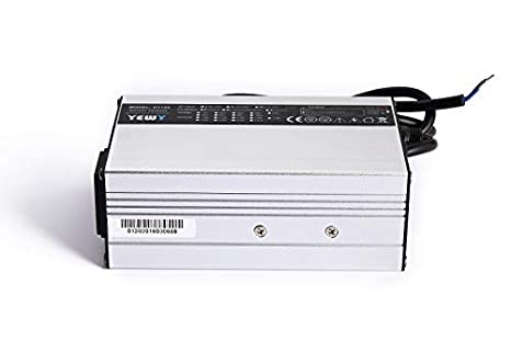 12V 6A Charger 14.6V 4S LiFePO4 Battery Smart Charger with Fan Battery Pack Charger Input 100VAC-240VAC