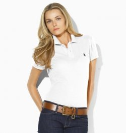 332a62c868a5 Polo ralph lauren polo t-shirt skinny fit white uk size xs (6-8 ...