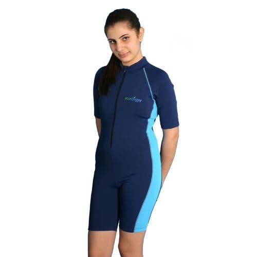 cb40f5679e EcoStinger Girls Full Body Swimsuit Sunsuit Sun Protection UPF50+ Chlorine  Resistant