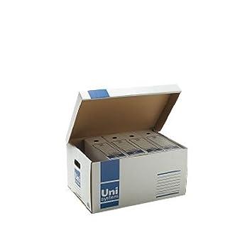 Contenedor de archivo acceso superior para 5 archivadores (5 unidades): Amazon.es: Electrónica
