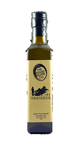 Estate Rouge - Extra Virgin Olive Oil by The Good Olive Co | Gold Medal Winning Wanderer Blend | 100% Real EVOO | Sustainable, Hand Picked, Single Origin Harvest | Healthy Cooking, Antioxidant Rich | 250ml