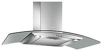 turboair cappa cucina aspirante 90 cm colore inox vetro - pantheon ... - Cappa Cucina Aspirante
