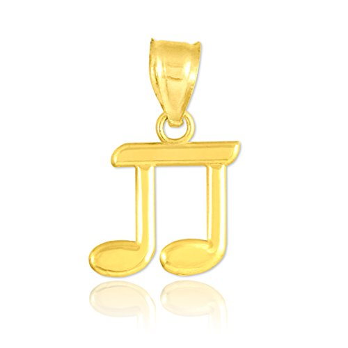 Petits Merveilles D'amour - 10 ct bar 471/1000 d'or huitième Note- Pendentif