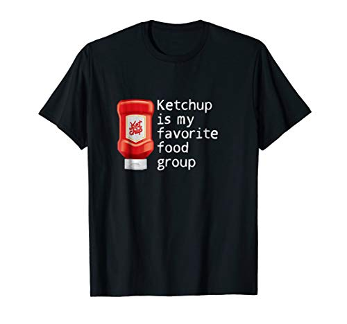 Ketchup is my favorite food Group shirt Tomato sauce Costume for $<!--$16.99-->