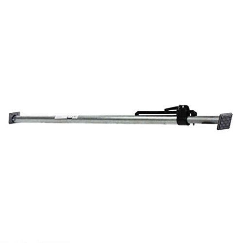 Round Tube Adjustable Load Bar / Cargo Bar with 2''X4'' Pads - Extends from 89.75