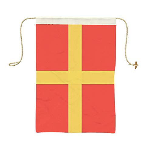 (Ships Chandlery Letter R Nautical Signal Flag - R Alphabet Maritime Flag Decoration; 19.50