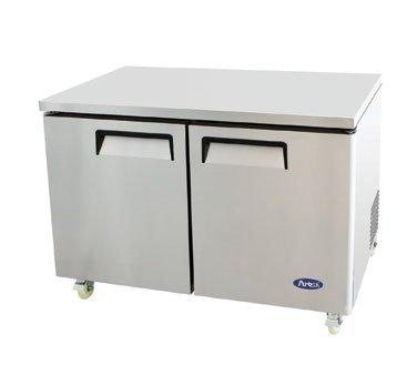 Atosa Two Door 48'' Wide Undercounter Refrigerator