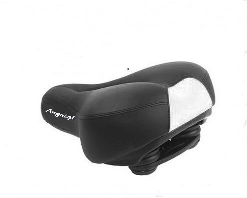 - Mocase Anatomic Relief Bicycle Suspension Saddle Wide Comfort Soft Foam Bike Seat