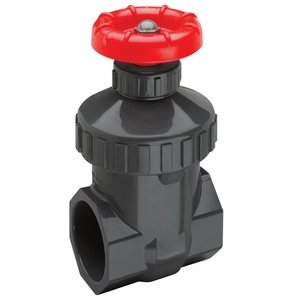 Spears PVC Gate Valve, Non-Rising Stem, Buna-N O-Ring, 1'' NPT Female by Spears Manufacturing