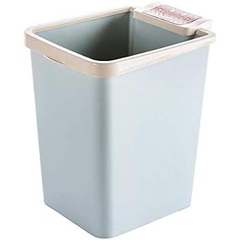 plastic trash can lightweight garbage bin ideal for narrow space home kitchen. Black Bedroom Furniture Sets. Home Design Ideas