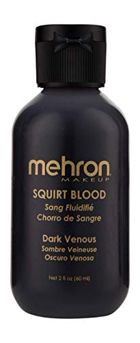 Mehron Makeup Squirt Blood (2 oz) (DARK