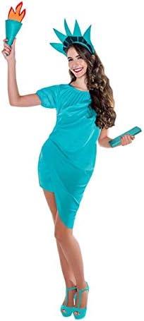 Disfraz de Estatua de la Libertad para mujer: Amazon.es: Juguetes ...