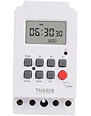 Timer Switch TM630S-2 220V High Power Second Control LCD Digital Programmable Timer Circuit Controler Power Distribution Control