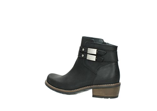nbsp;Nero Comfort Wolky Bottes Black Leather 00571 Oiled 50000 Axvt7aqx