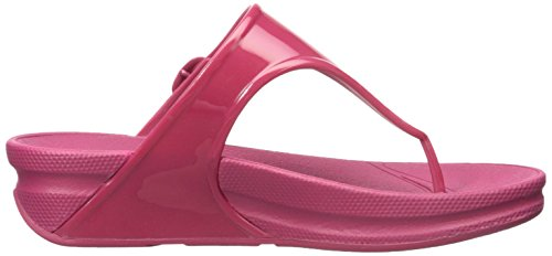 FitFlop Sandale Rio Rose Bonbon Superjelly Post Rose à Toe qwaA4qT