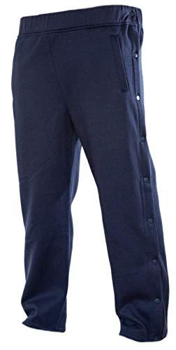 (Funny Guy Mugs Retro Tearaway Sweatpants - Premium Breakaway Pants (Navy Blue,)