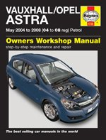 CCA HAYNES Vauxhall/Opel Astra Petrol (May 04 - 08) 04 to 08