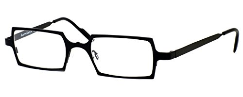 Harry Lary's French Optical Eyewear Goldy Reading Glasses in Black (101) - Optical Frames French