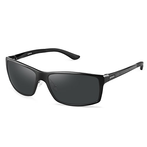 Polarized Mens Sunglasses For Driving Lightweight Wayfarer Best - For Best Sunglasses Face Large