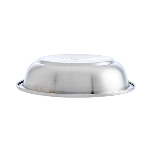 18/8 Stainless Steel Dog Bowl, Smooth Interior Finish Dog Food Bowl (11-Ounce)