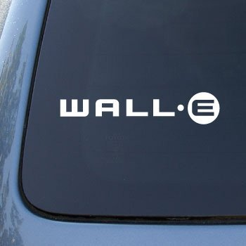 Wall e logo disney vinyl car decal sticker 1759 vinyl color