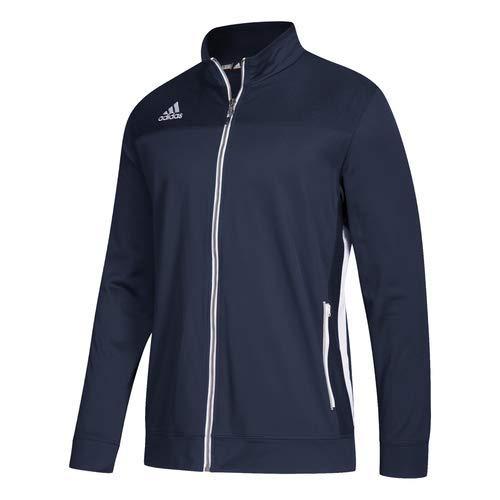 Navy-white L adidas Mens Climalite Utility Jacket