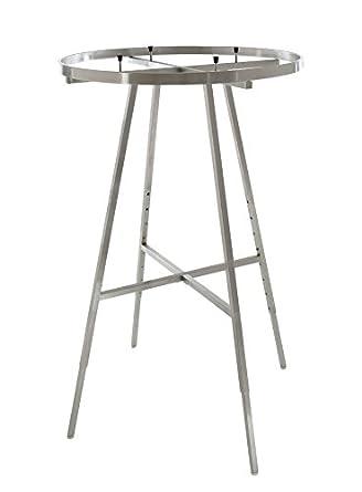 Amazon.com: econoco redonda plegable rack con rectangular ...