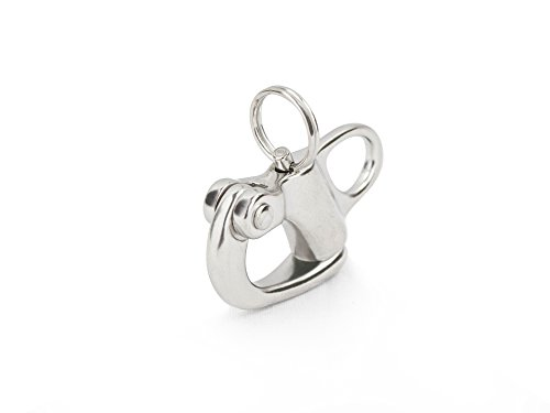 "Five Oceans Fixed Bail Snap Shackles, 2"" - BC 441"