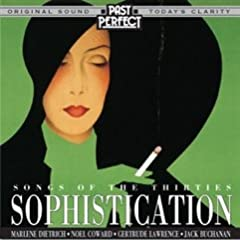 1930s songs from artists such as Carroll Gibbons, Fred Astaire, Greta Keller and Marlene. This collection of 1930s popular tunes covers a wide range of artists from both stage and screen with one common ingredient - Sophistication!Track List:...