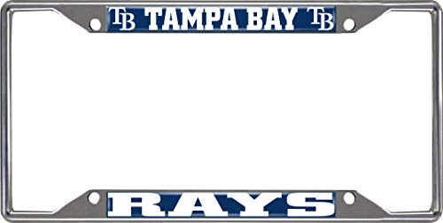 FANMATS MLB - Tampa Bay Rays License Plate Frame