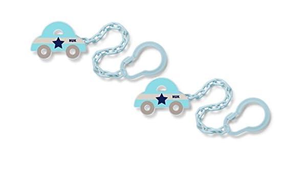 NUK chupete 10256446 cadena con clip, libre de BPA, 1 pieza ...
