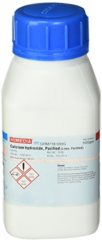 (HiMedia GRM718-500G Calcium Hydroxide, Purified, 500 g )