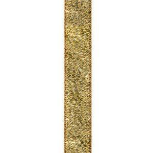 Metallic Lurex Ribbon 1/4 inch Gold 50 yards Polyester lame'