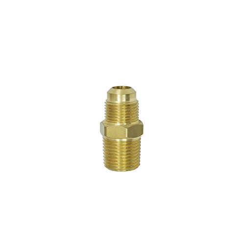 NIGO Brass Tube Fitting, Half-Union, 1/4