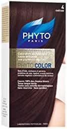 Phytocolor Coloración Permanente Nuance 4 Chatain: Amazon.es ...
