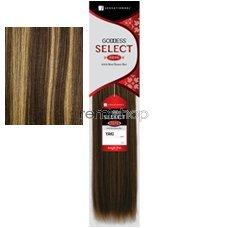 Goddess Remi Yaki Weaving - Goddess Select Remi Human Hair Yaki Weaving14Inch - S4/27