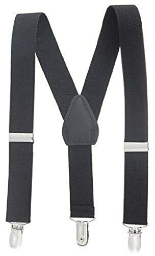 Black Kids Toddlers Suspenders Fashion Boys Girls US Ship Free Size Tkmiss from Unknown