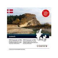 Garmin Topo Dänemark v4 Pro Topographische Vektorkarte, schwarz, Uni