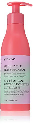 - EVA NYC Mane Tamer Leave In Cream 8.5 Oz with Argan Oil and Keravis