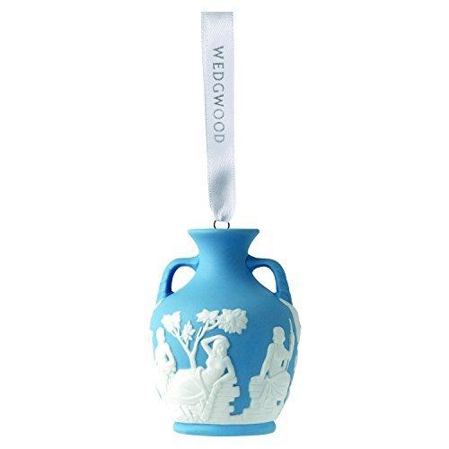 Wedgwood Iconic Portland Vase Christmas collection, Blue (Christmas Wedgwood)