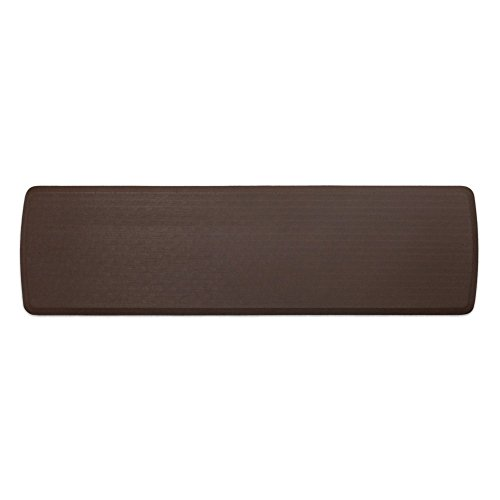 """GelPro Elite Premier Anti-Fatigue Kitchen Comfort Floor Mat, 20x72"""", Linen Truffle Stain Resistant Surface with Therapeutic Gel and Energy-return Foam for Health and Wellness by GelPro"""