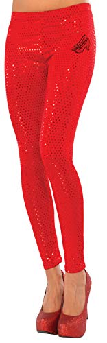 Rubie's Women's Wizard Of Oz Dorothy Ruby Red Leggings, Red, One Size]()