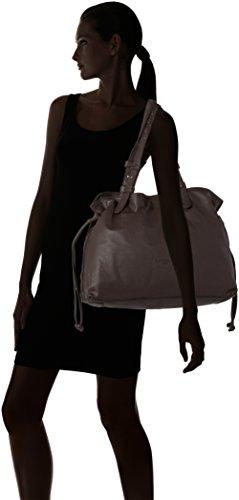 Liebeskind Berlin Durham Wood - Shoppers y bolsos de hombro Mujer Marrón (Eagle Brown)