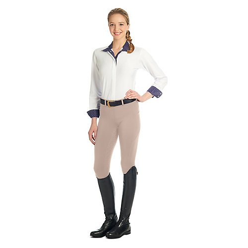 Ovation Ladies aerowickフルシートBreech B06XYSR8P7 X-Large (32)|グレー グレー X-Large (32)