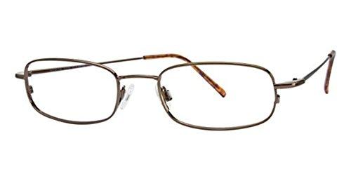Flexon Flx 803Mag-Set Eyeglasses 218 Coffee 218 Demo 51 19 145 ()