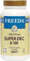 Freeda Kosher B Complex Super Dec B 100 mg. 250 TAB