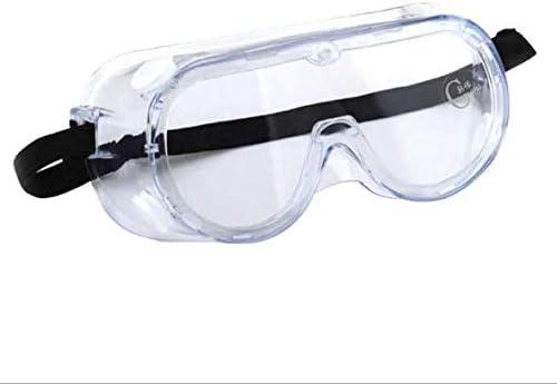 Beetest ES Gafas Proteccion, Gafas de Seguridad Antivaho, Gafas Protectoras Trabajo, Gafas de Laboratorio Quimica Cubregafas Protectoras para Laboratorio, Agricultura, Industria