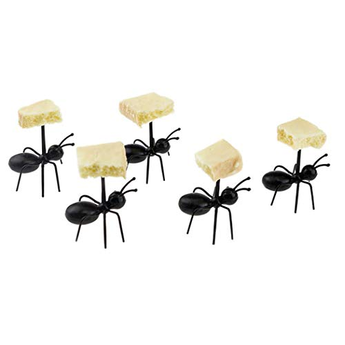 Asatr Animal Ant Shape Lunch Box Cake Fruit Fork Restaurant Party Flatware Sets