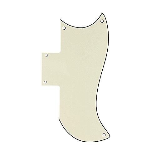 Jocestyle Scratch Guard Plate Pickguard for Gibson SG Style Electric Guitars (03 Dark Green) (Sg Green Gibson)
