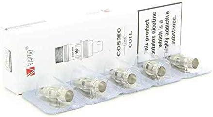 Resistencias de Cosmo C2 DL (0.7 ohm) Vaptio (pack de 5) 0,7 Ohmios: Amazon.es: Salud y cuidado personal